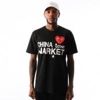 Afbeelding van Chinatown Market Comme De Chinatown CTM-CDC T shirt Black