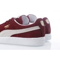 Afbeelding van Puma 352634-75 Sneakers Suede classic+ Rood