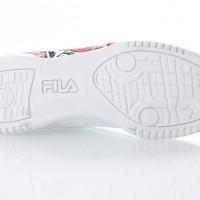 Afbeelding van Fila Ladies 5FM00014-155 Sneakers Original fitness embroidery Wit