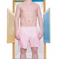 Afbeelding van Pockies Swimshort Salou Pink / White
