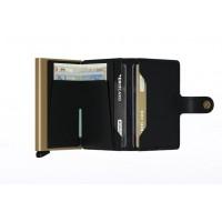 Afbeelding van Secrid MC-BLACK-GOLD Wallet Miniwallet crisple Zwart