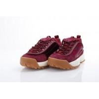 Afbeelding van Fila Ladies 1010305-40I Sneakers Disruptor v low Rood