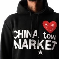 Afbeelding van Chinatown Market Comme De Chinatown CTM-CDCHD Hooded Black