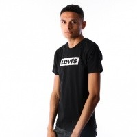 Afbeelding van Levi`s Graphic Set In Neck 2 T-Shirt 22491-0427 Levi`s Logo Black