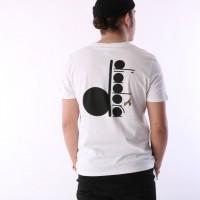 Afbeelding van Diadora 502.161.924-C0013 T-shirt Sl bl Wit