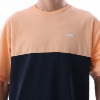 Afbeelding van Vans VA3CZD-PGH T-shirt Colorblock Apricot ice/dress blues