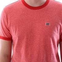 Afbeelding van Levi's 39958-0000 T-shirt Bernal ringer Rood