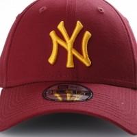 Afbeelding van New Era 80536629 Dad cap League essential 940 NY Yankees Bruin