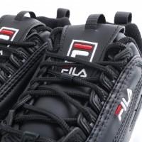 Afbeelding van Fila Ladies 1010302-25Y Sneakers Disruptor low Zwart