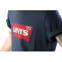 Afbeelding van Levi's 17783-01390 T-shirt Graphic set-in neck hm Blauw