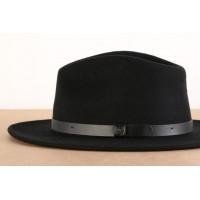 Afbeelding van Brixton 00136-BKBLK Hat Messer Zwart