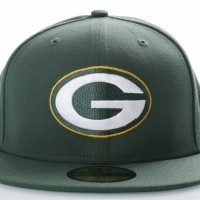 Afbeelding van New Era 80536528 Fitted cap NFL classic 5950 Green Bay Packers Official team colors