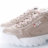 Afbeelding van Fila Ladies 1010303-80D Sneakers Disruptor metallic Rose Gold