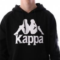 Afbeelding van Kappa 303WH20-005 Hooded Authentic hurtado Zwart