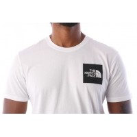 Afbeelding van The North Face T0CEQ5-LA9 T-shirt Fine Tnf white / Tnf black