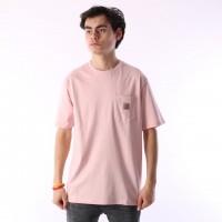 Afbeelding van Carhartt WIP I022091-971 T-shirt Pocket Roze