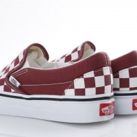 Afbeelding van Vans Classics VA38F7-QCJ Sneakers Classic slip-on Rood