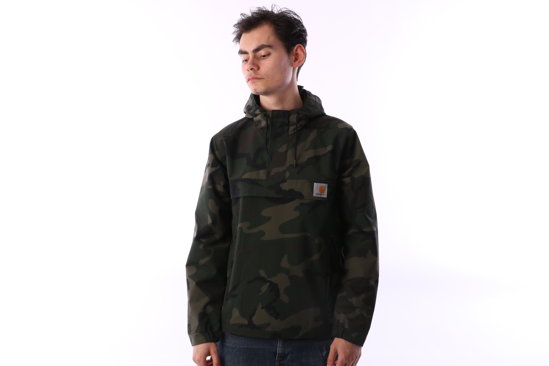 Foto van Carhartt WIP I014046-836 Jacket Nimbus pullover Groen