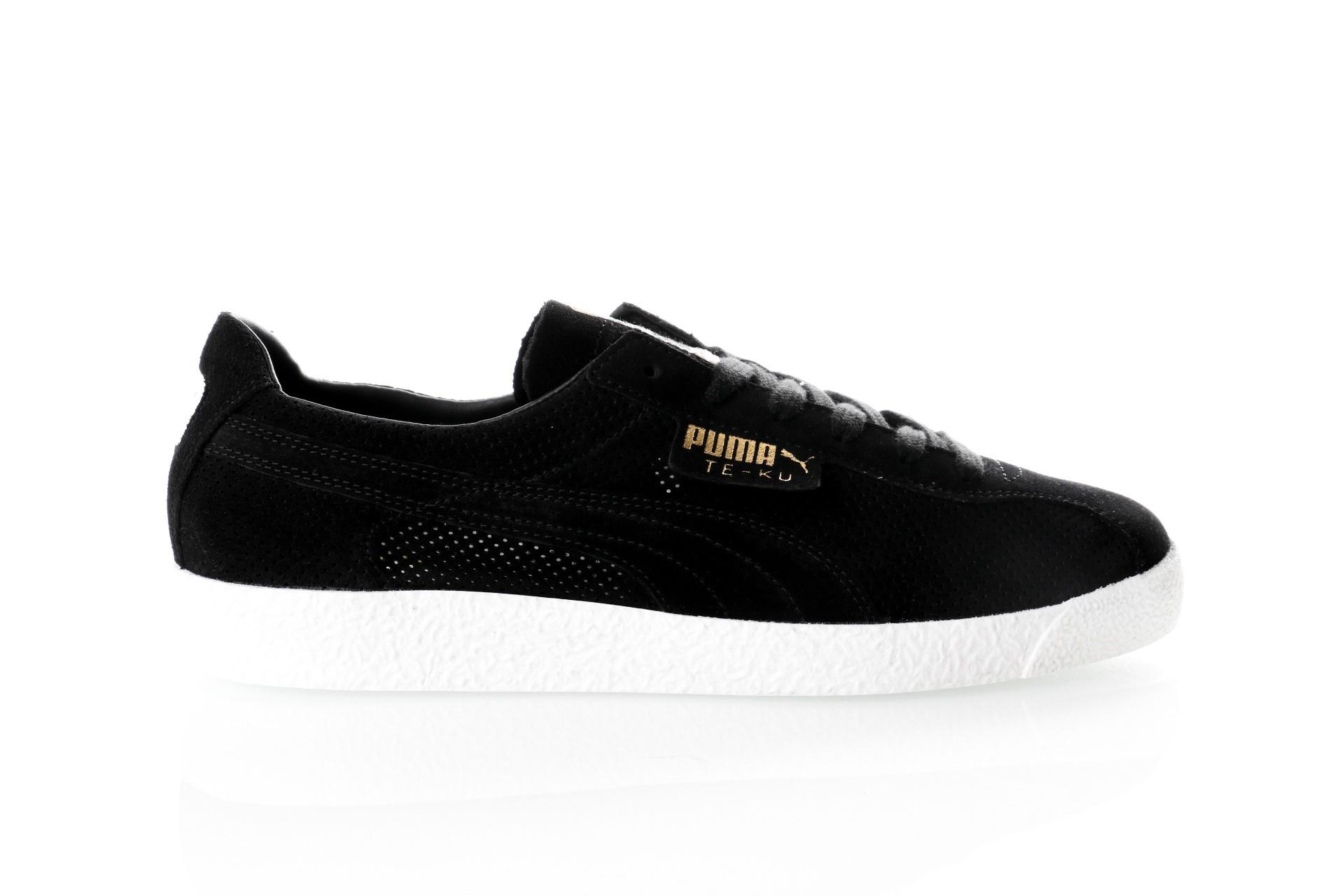 Foto van Puma Te-Ku Summer 365422 04 Sneakers Puma Black - Puma Black - Puma White