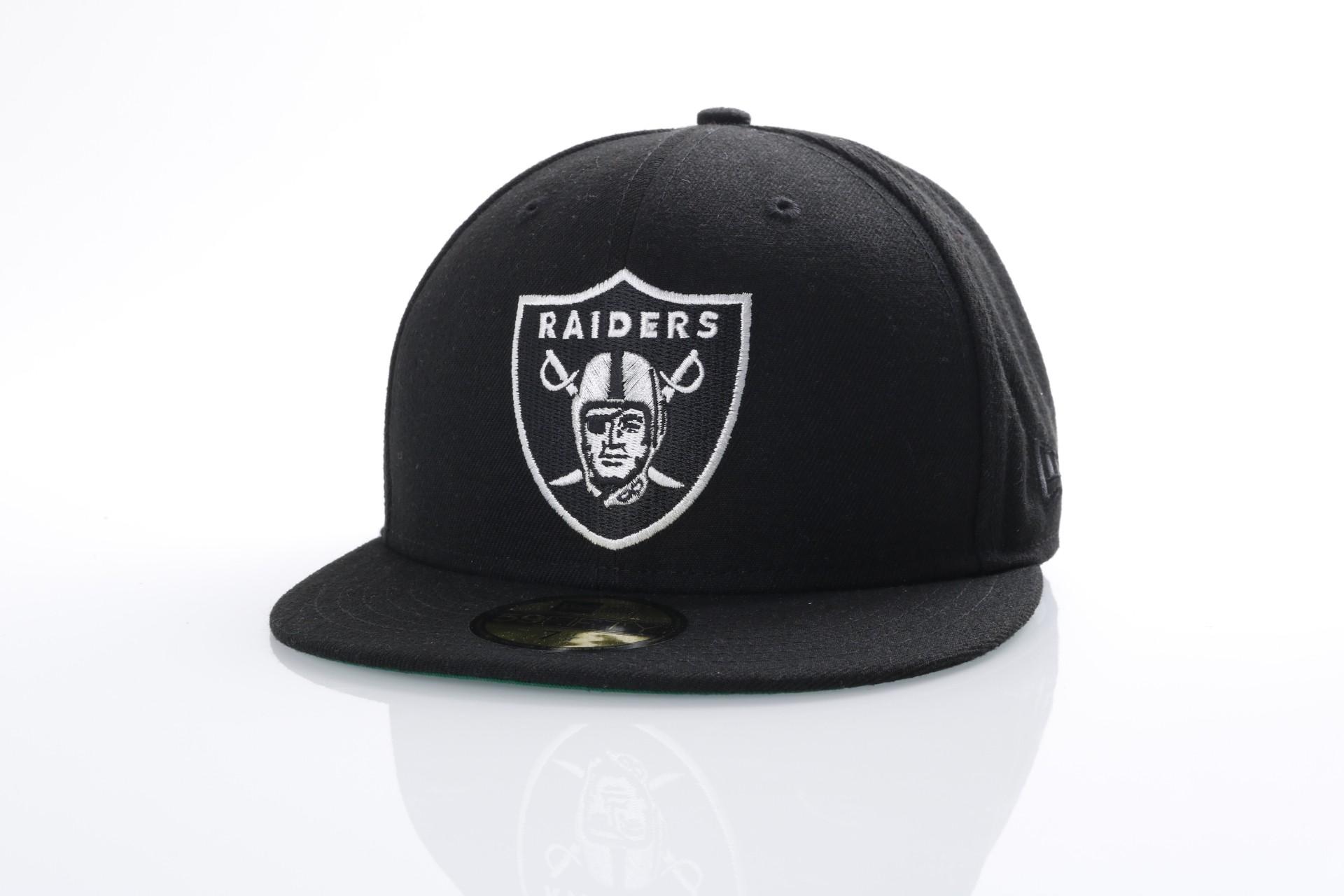 Foto van New Era 80536530 Fitted cap NFL classic 5950 Oakland Raiders Official team colors