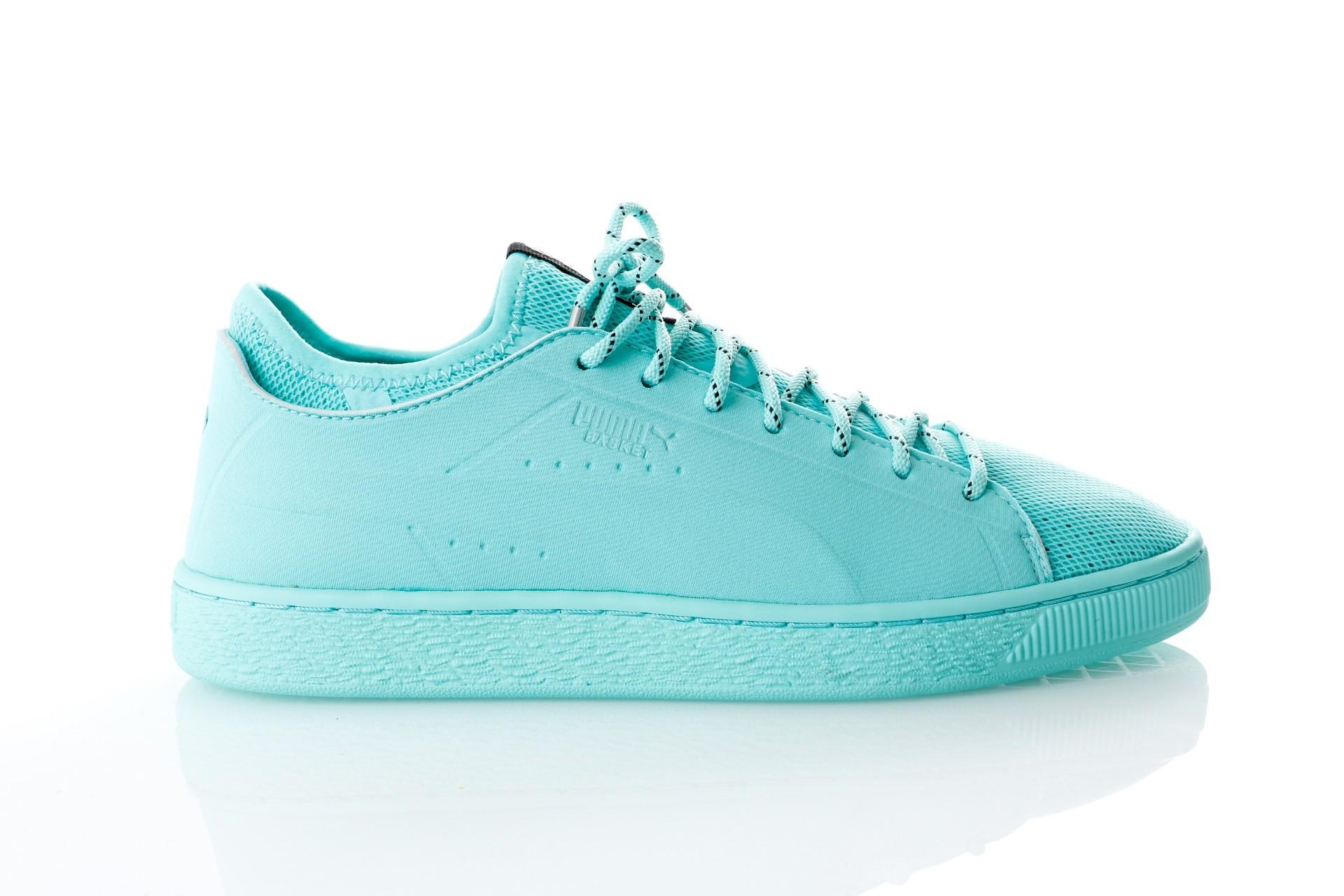 Foto van Puma Basket Sock Lo DIAMOND 366431 sneakers diamond blue