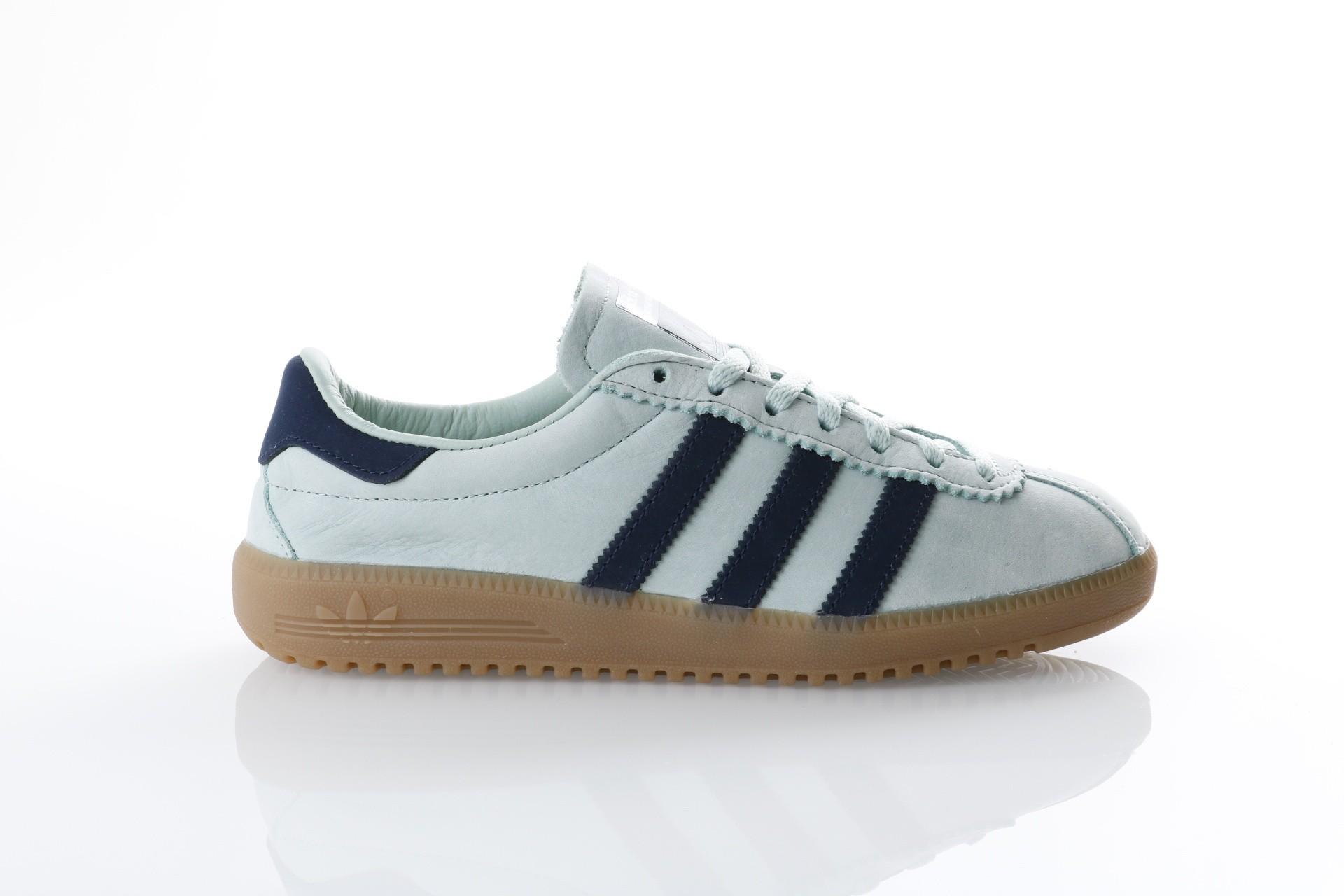 Foto van Adidas Originals CQ2783 Sneakers Bermuda Ash green/collegiate navy/gum