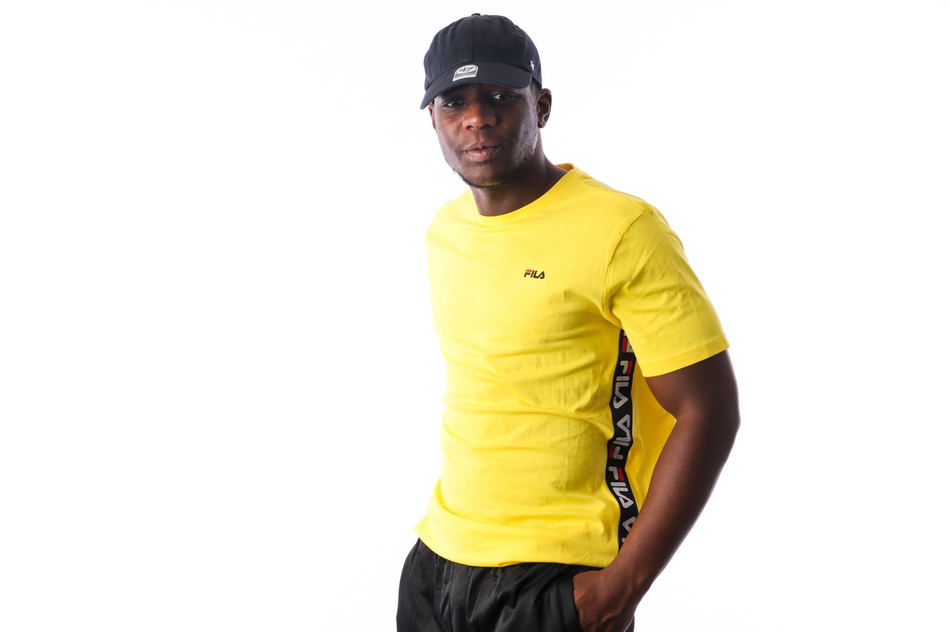 Foto van Fila TALAN Tee SS 682362 T Shirt vibrant yellow