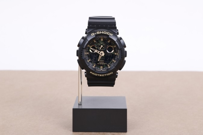 Foto van Casio G-Shock GA-100CF-1A9ER Watch GA-100CF Zwart