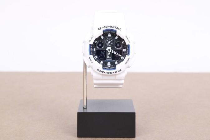 Foto van Casio G-Shock GA-100B-7AER Watch GA-100B Wit