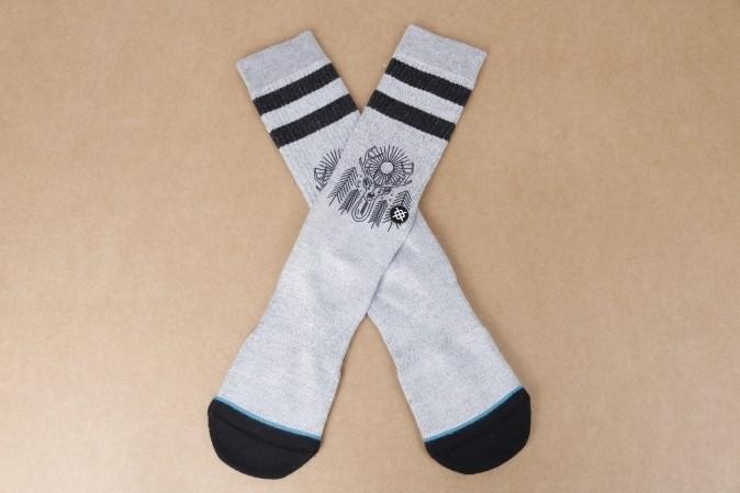 Foto van Stance M556D16PEA-GRY Socks Peaceful Grijs