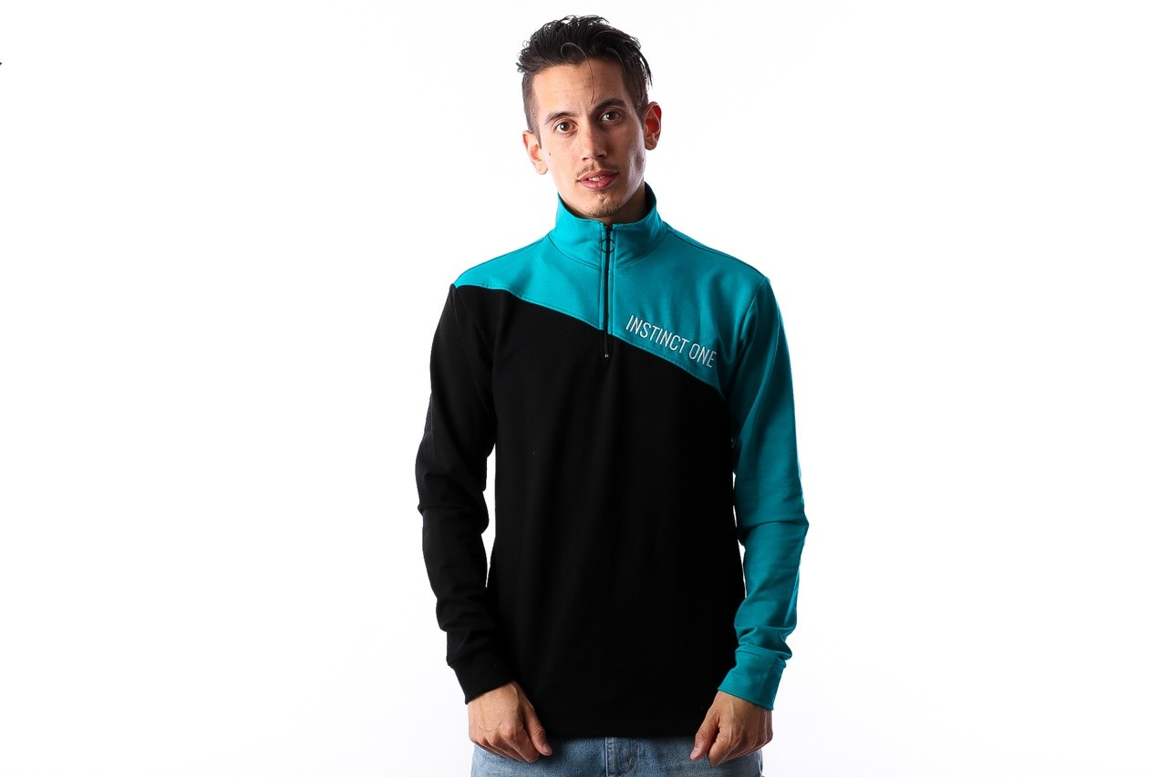 Foto van Instinct One City Zipper IO-18001 Black / Turquoise