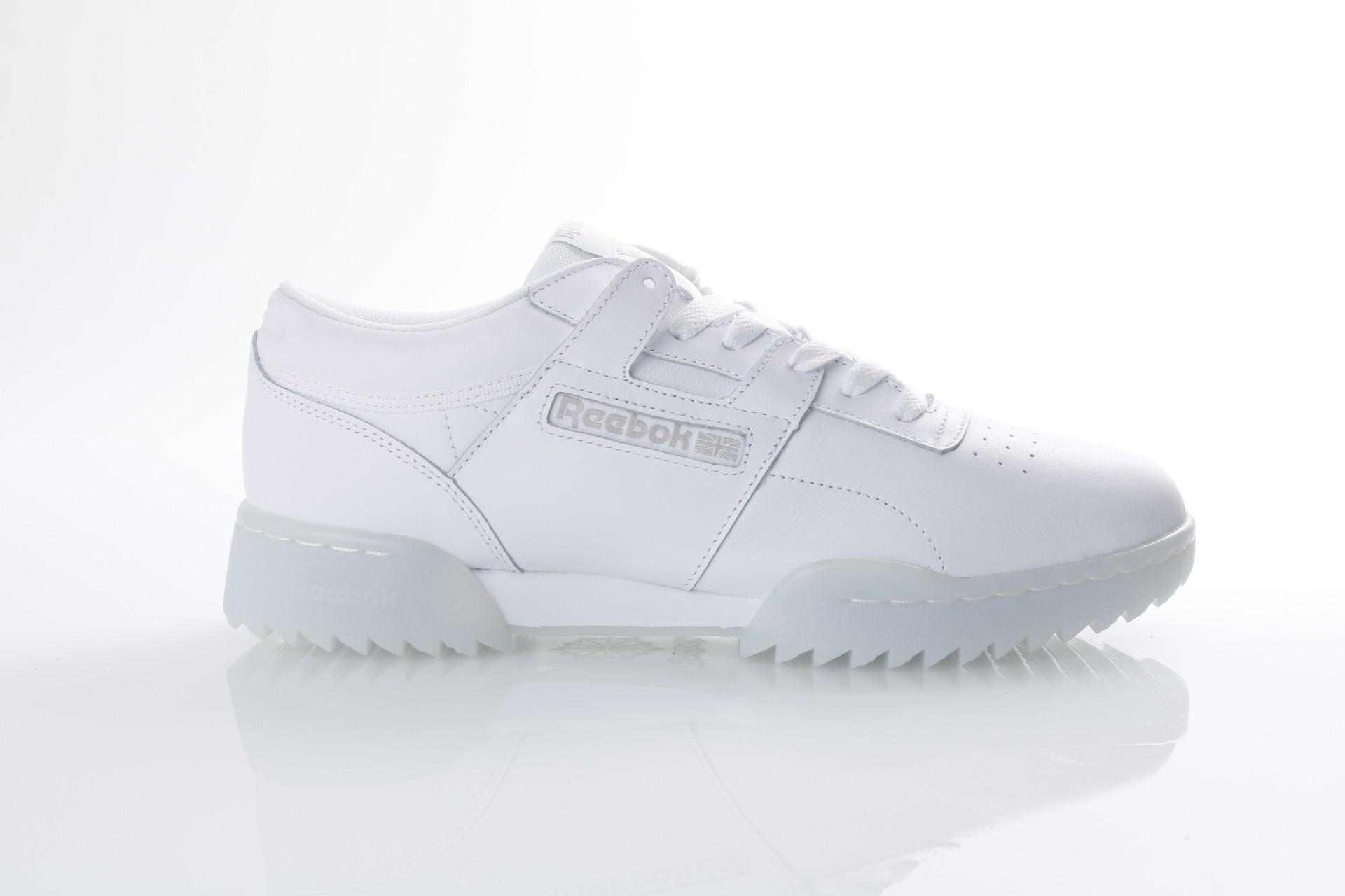 Foto van Reebok CM9929 Sneakers Workout clean ripple ice Wit
