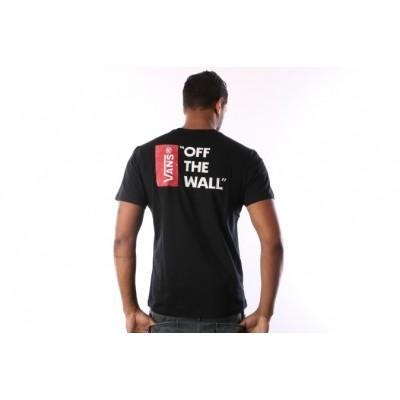 Vans V5Y0-BLK T-shirt Vans off the wall III Zwart