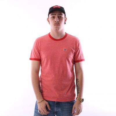 Levi's 39958-0000 T-shirt Bernal ringer Rood