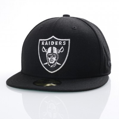 New Era 80536530 Fitted cap NFL classic 5950 Oakland Raiders Official team colors