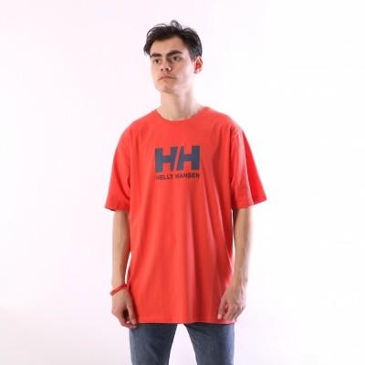 Helly Hansen 33979-118 T-shirt HH Logo Paprika