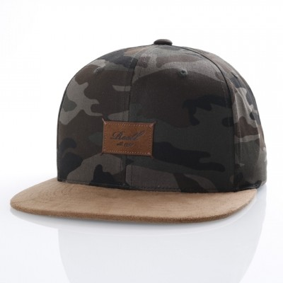 Reell Snapback cap Suede 6-Panel Camouflage