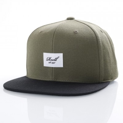 Reell Snapback cap Pitchout Buck / Black