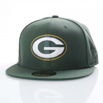 New Era 80536528 Fitted cap NFL classic 5950 Green Bay Packers Official team colors