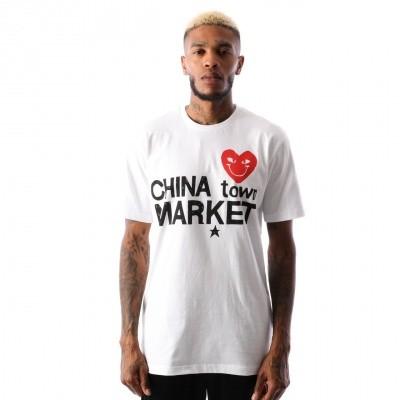 Chinatown Market Comme De Chinatown CTM-CDC T shirt White