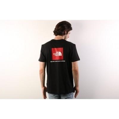 The North Face T92TX2-JK3 T-shirt Redbox Zwart