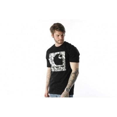Carhartt WIP I024755-89 T-shirt C collage Zwart