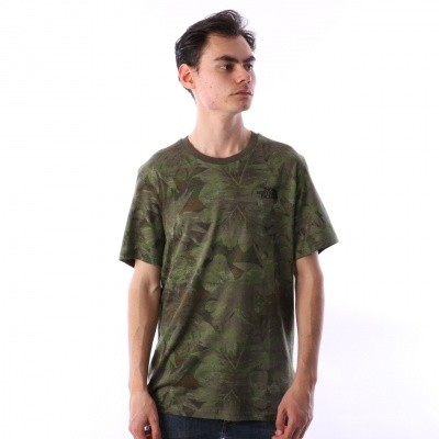 The North Face T92TX5-1TH T-shirt Simple dome Groen