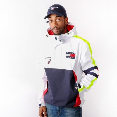 Tommy Jeans 90s Sailing Jacket Bright White DM0DM04818-113