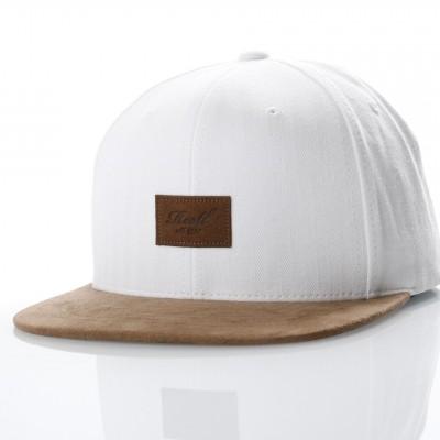 Reell Snapback cap Suede 6-Panel Offwhite Herringbone