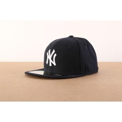 New Era BASIC Fitted cap Authentic New York Yankees Blauw
