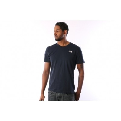 The North Face T92TX5-M6S T-shirt Simple dome Blauw