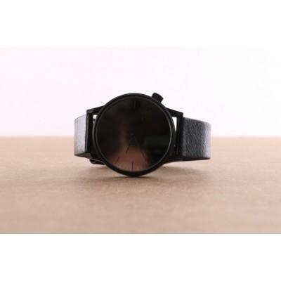 Komono KOM-W2890 Watch Winston mirror Zwart