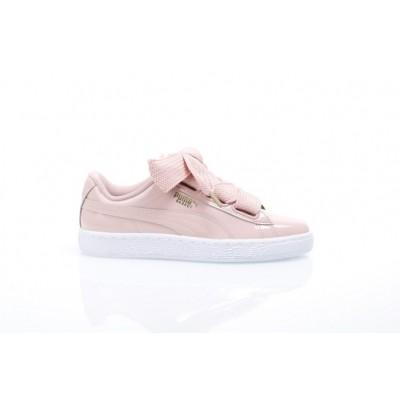 Puma Ladies 363073-11 Sneakers Basket heart patent Roze