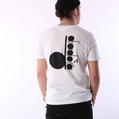 Diadora 502.161.924-C0013 T-shirt Sl bl Wit
